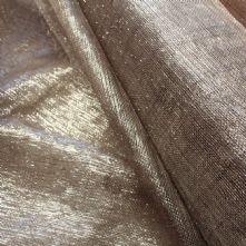 Grey Lilac Silver Thread Sinamay